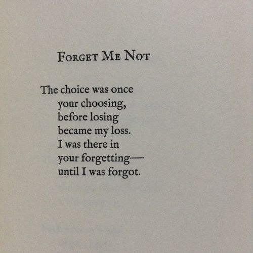 5d15ae329 forget me not, Lang Leav, and poetry image | Poetry | Lang leav ...
