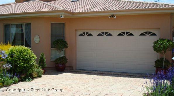 Ranch Sectional Garage Door With Sherwood Windows New Garage Ideas
