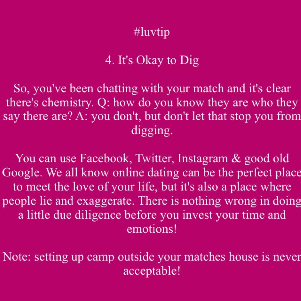 Online dating okay