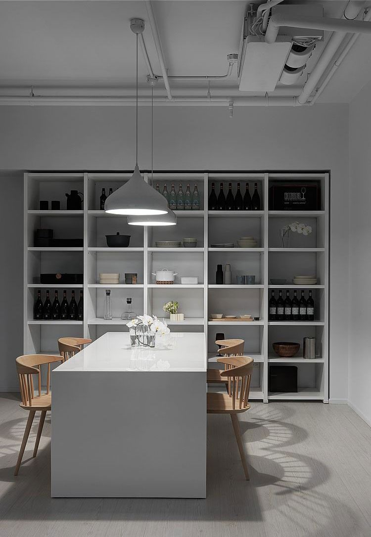 Современная, минималистичная квартира в Тайвани | Kitchen ...