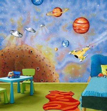 Pokój małego astronauty