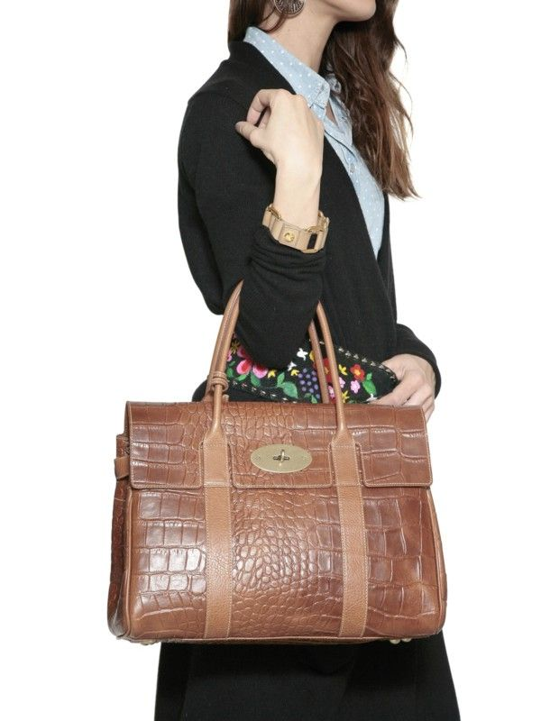 f440f9334eca Große  braune  Tasche mit  Struktur! ♥ stylefruits Inspiration ♥ Mulberry  Bag