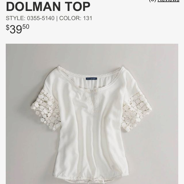 So cute. Why are you forty bucks? :( American Eagle top