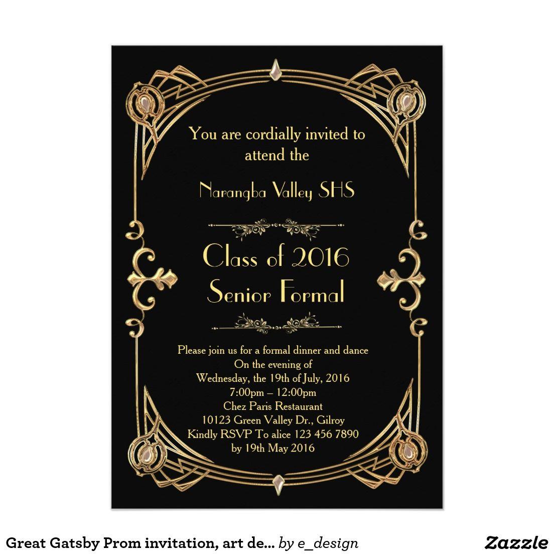 teens prom invitation - HD1104×1104