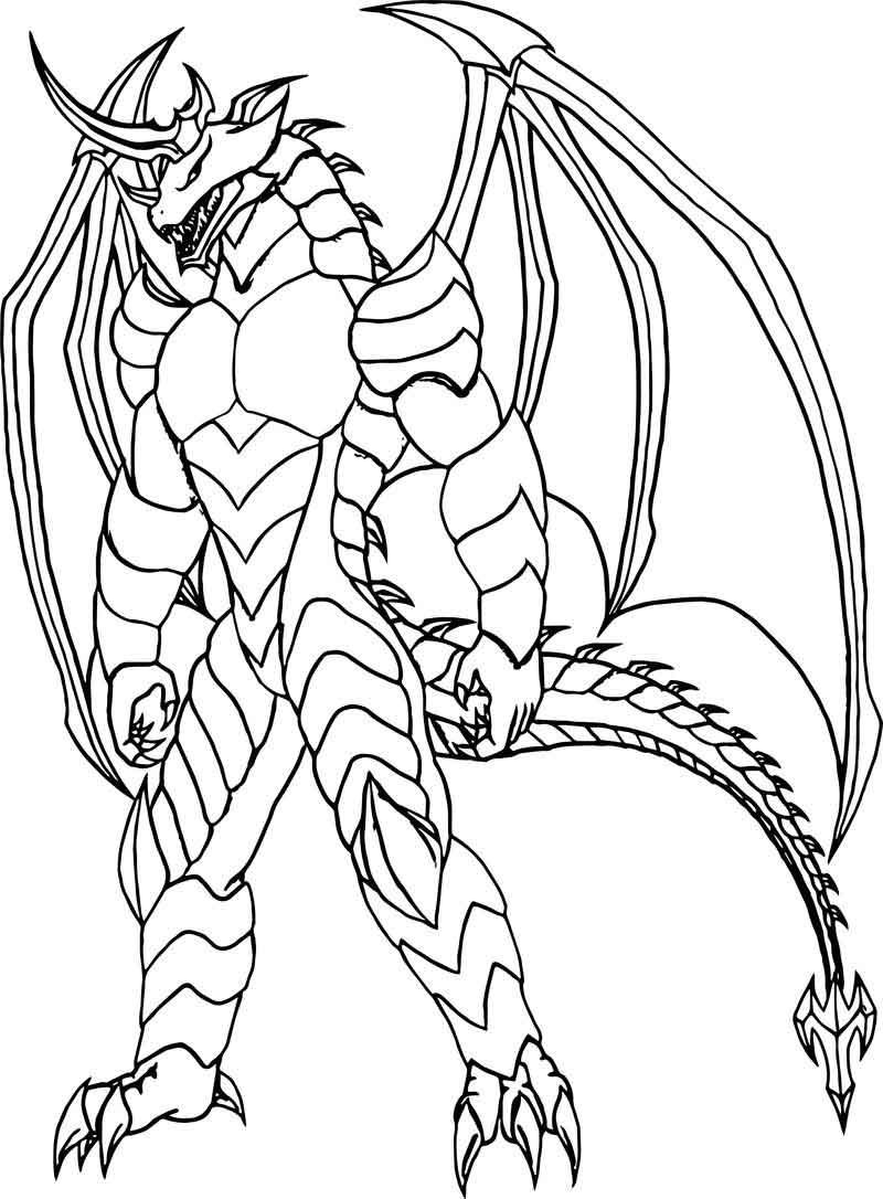 Bakugan Creature Coloring Page | Coloring pages