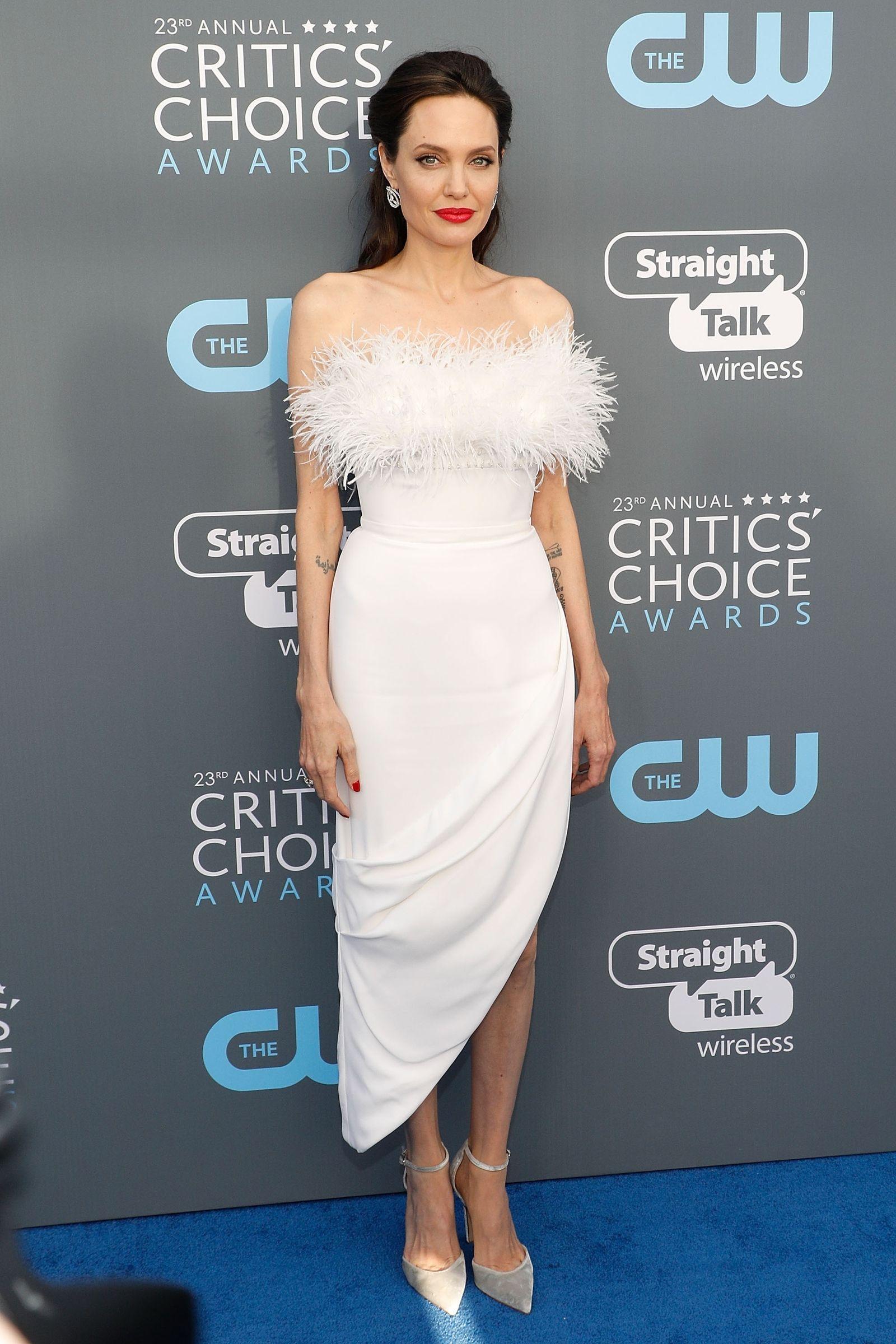 Critics Choice Awards 2018-Angelina Jolie in Ralph & Russo