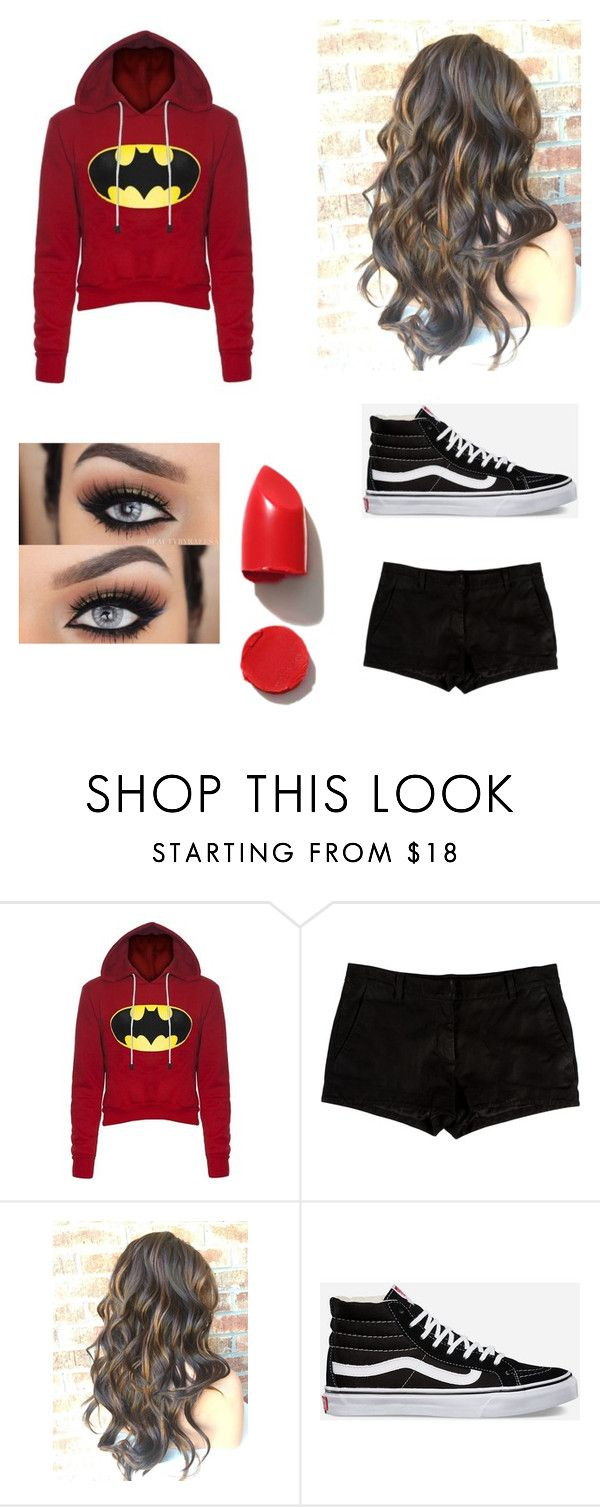 """Dark huntress"" by pandagirlcdm ❤ liked on Polyvore featuring L'Agence, Vans and NARS Cosmetics"
