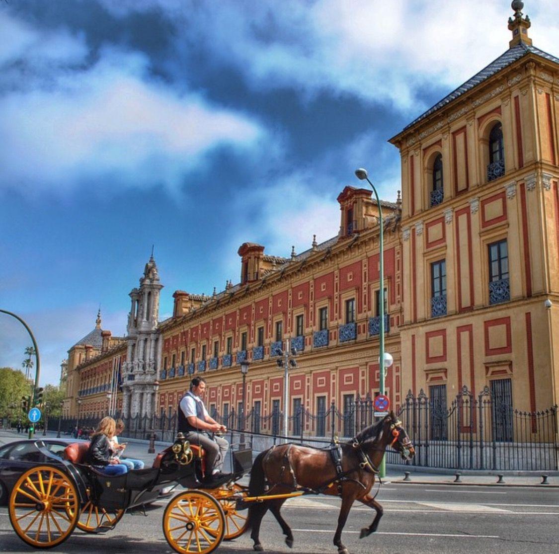 El Palacio de San Telmo Sevilla