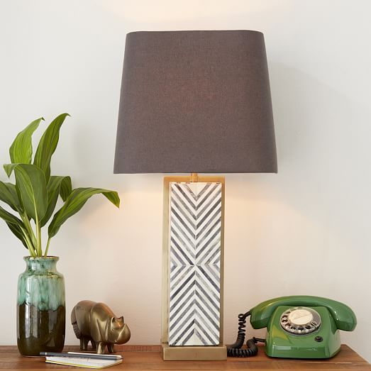 Chevron Deco Table Lamp - Large | Let there be light ...
