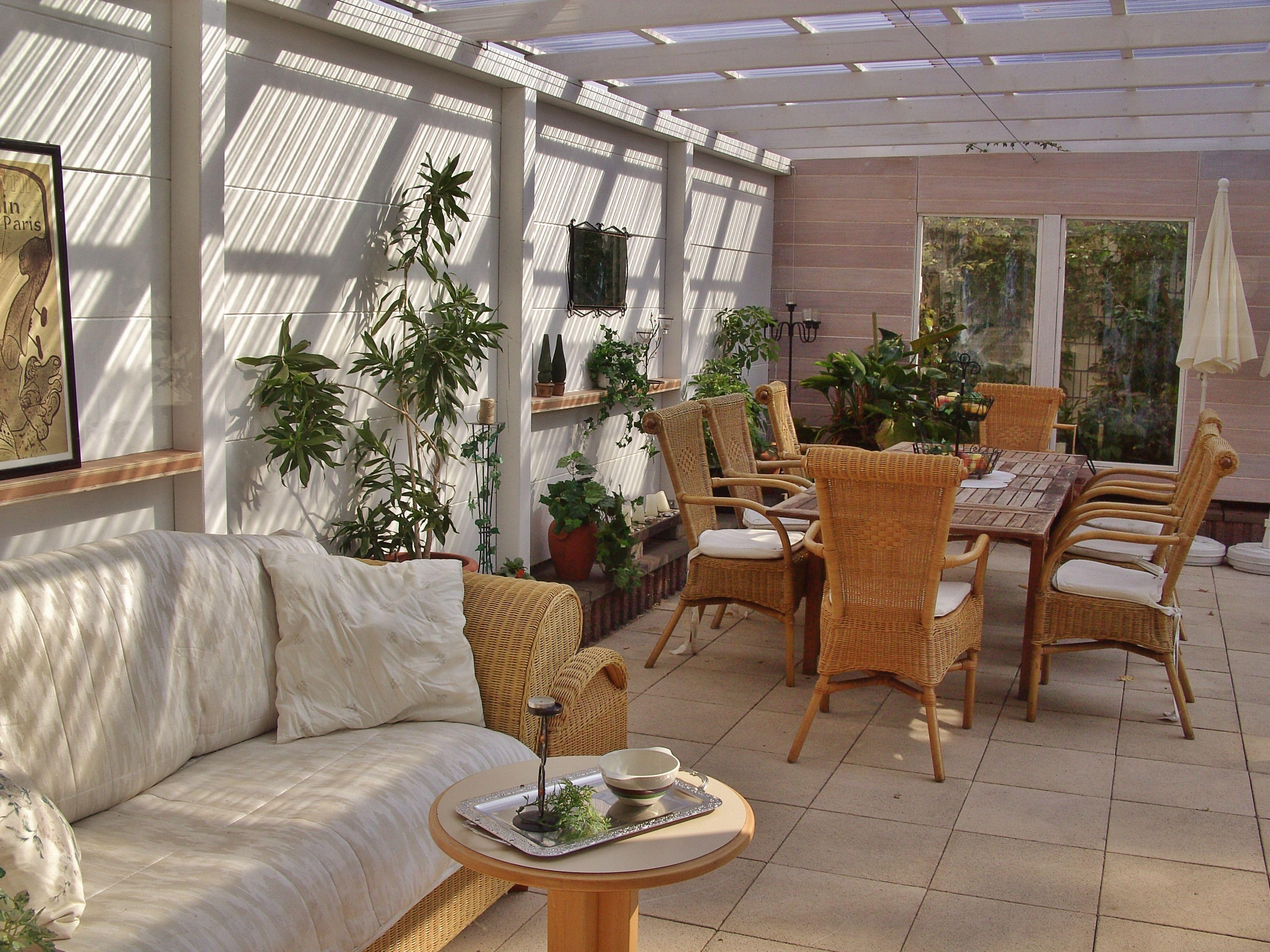 rattanm bel auf der terrasse priwall beach house. Black Bedroom Furniture Sets. Home Design Ideas