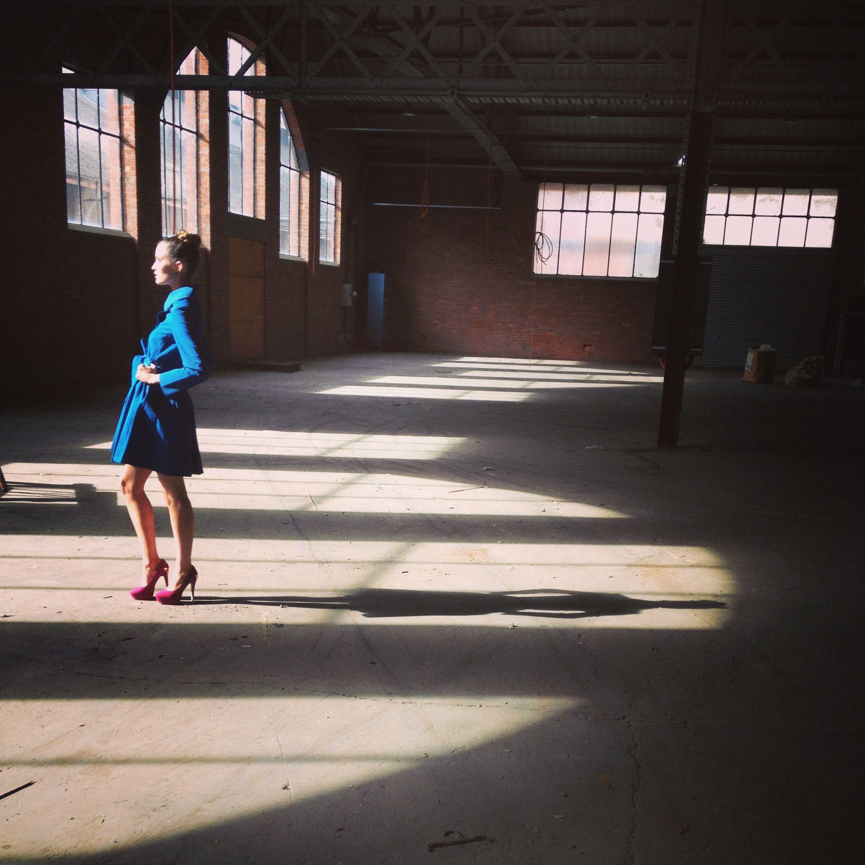 like the abandoned warehouse scene