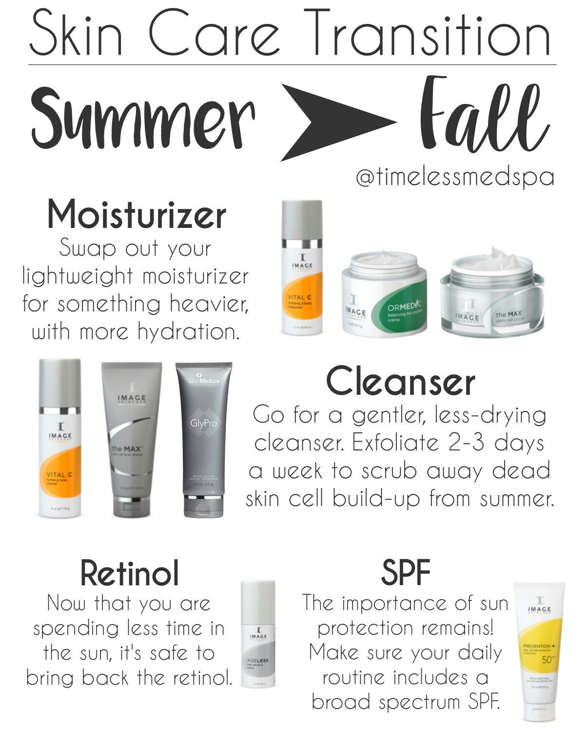 Tips To Transition Your Skin Care Routine From Summer To Fall Skincare Skin Imageskincare Nothingbut Autumn Skincare Image Skincare Best Skin Care Routine