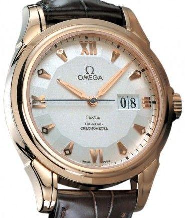 Omega De Ville Co-Axial Großdatum Chronometer