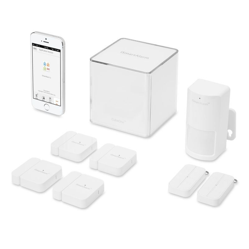 ismartalarm home security system deluxe package apple store u s home automation wish. Black Bedroom Furniture Sets. Home Design Ideas