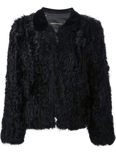 EMPORIO ARMANI cropped jacket #croppedjacket #armani #giorgioarmani #designer #covetme #emporioarmani
