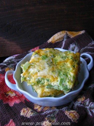 The Best Broccoli and Cheddar Frittata | Frittata recipes ...