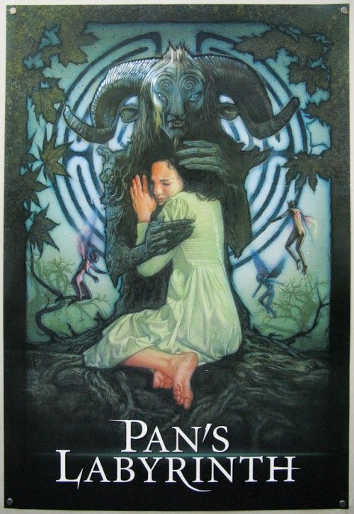 pan s labyrinth rejected poster design by drew struzan film