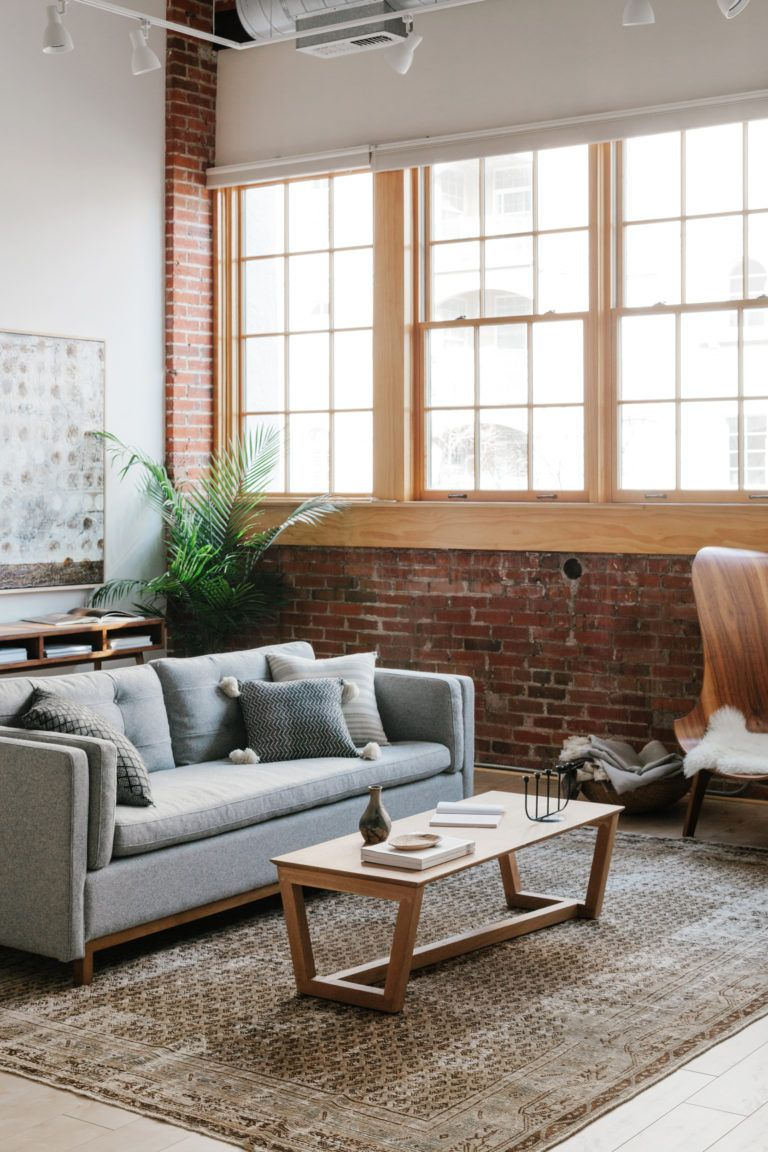 A Modern Industrial Living Room Reveal With Guest House Annabode