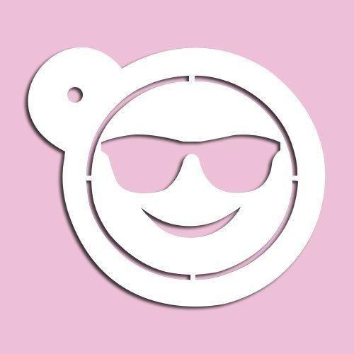 Resultado de imagen para stencil de emojis