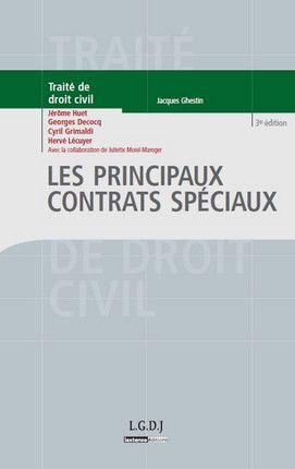 Huet Jerome Les Principaux Contrats Speciaux Lgdj Lextenso 2012