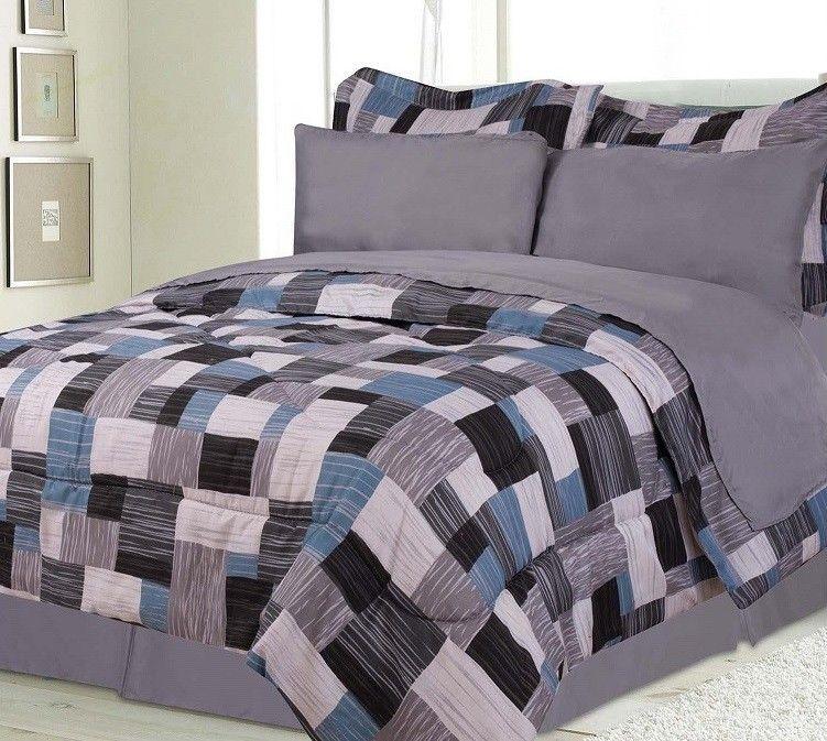 Best Blue And Grey Bedding For Boys Boys Kids Bedding Alaska 640 x 480