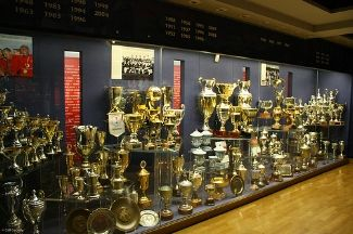 Liverpool Fc Trophy Room