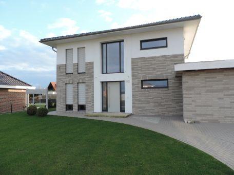 Hausansicht Haus, Baustil, Haus bauen