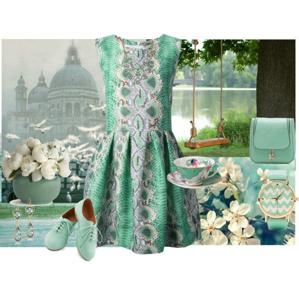 """""""A Dream For Spring"""" by lawoffice on Polyvore"""