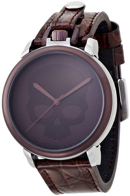 f23408cc1c [ブルッキアーナブラックレーベル]BROOKIANA BLACKLABEL Poket Watch & Wrist Watch SKULL Brown  BKL1004-SKBR. QUEEN さんのボード「激安メンズ腕時計」 ...