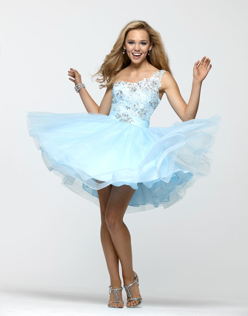 Fun and Flirty Prom Dress 2157 By Clarisse | Beaded prom dress, Prom ...