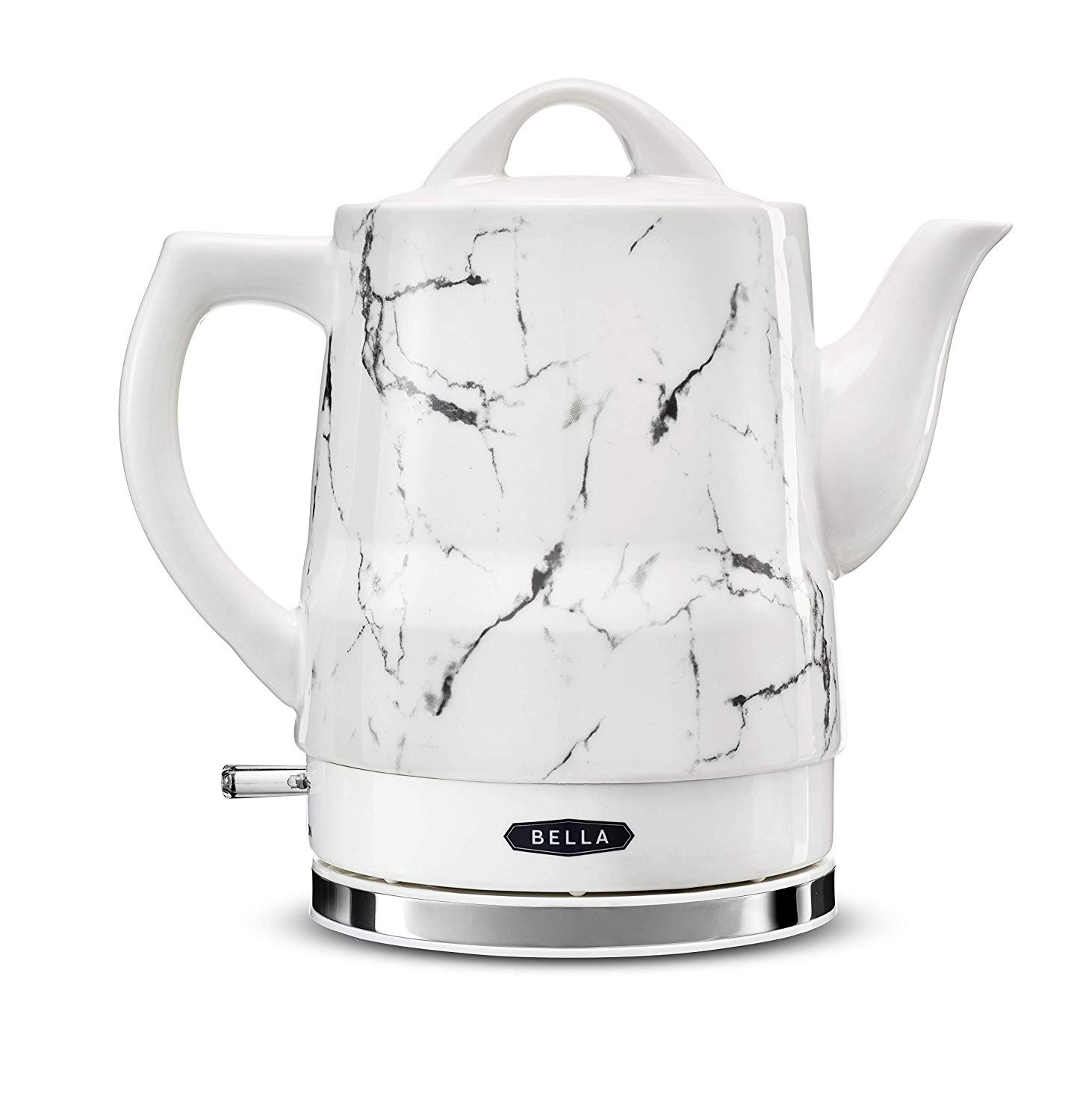 Amazon Com Bella 13622 1 2l Electric Ceramic Tea Kettle With Detachable Base And Boil Dry Protection Electric Tea Electric Tea Kettle Electric Kettle Kettle
