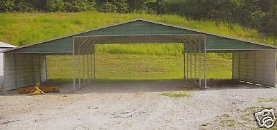 42x26 Metal Carport Garage All Steel Storage Building Installed View Our Store Ebay Garage Door Design Metal Carports Steel Storage Buildings