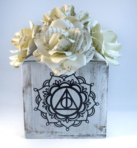Harry Potter Decor Ly Hallows Flowers