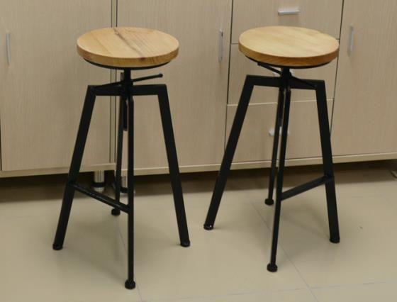 Conjunto de 2 país americano estilo altura assento ajustável de ...