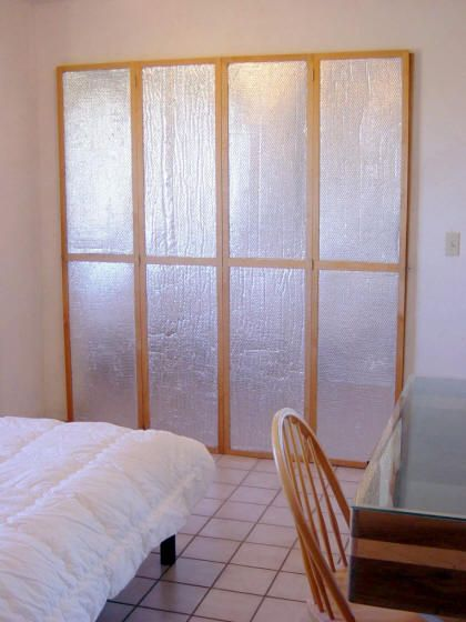 Perfect Insulating Window Or Door Shutters Using Astrofoil Reflective Insulation  This Would Be Good For Those Basement