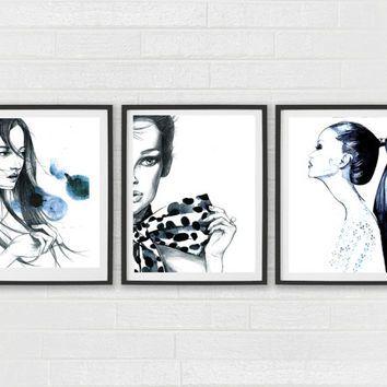 Fashion Wall Art Pinkayt Do On Interior Decor  Pinterest  Interiors