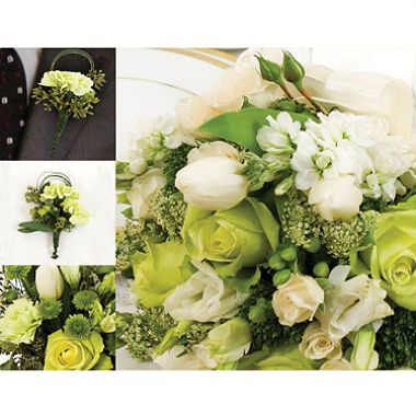 Wedding Collection Green White 17 Pc Sam S Club Bulk Wedding Flowers Dyi Wedding Flowers Wedding Flowers