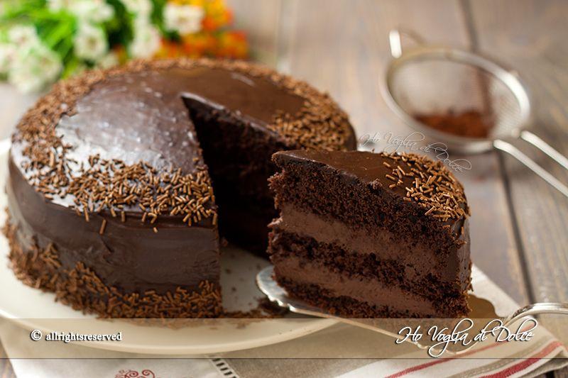 torta al cioccolato con crema al mascarpone e nutella best nutella and mascarpone ideas. Black Bedroom Furniture Sets. Home Design Ideas