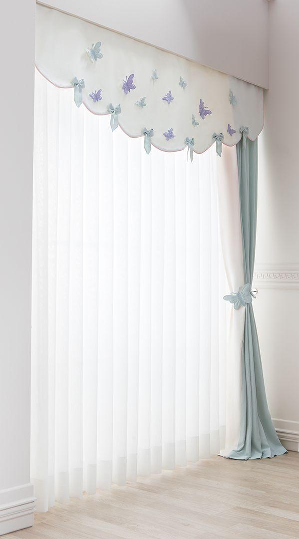 Bebek odasi perde detay curtains pinterest cortinas for Cortinas marroquies