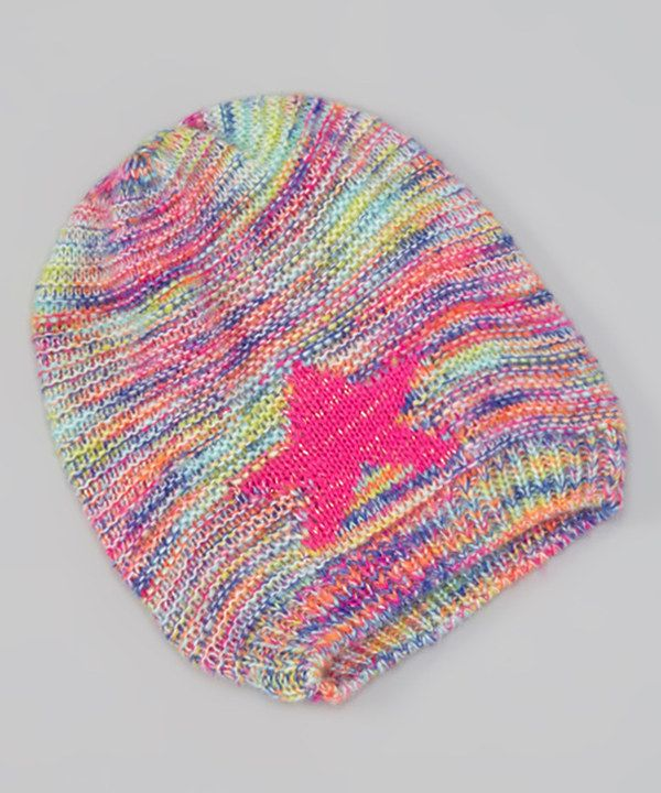 Look at this Betsey Johnson Bright Magenta Stargazer Beanie on #zulily today!