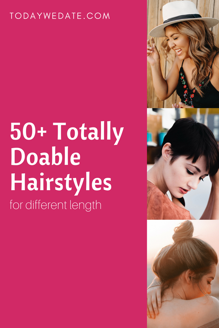 Best hairstyle for rebonded hair wedge hairstyles pinterest