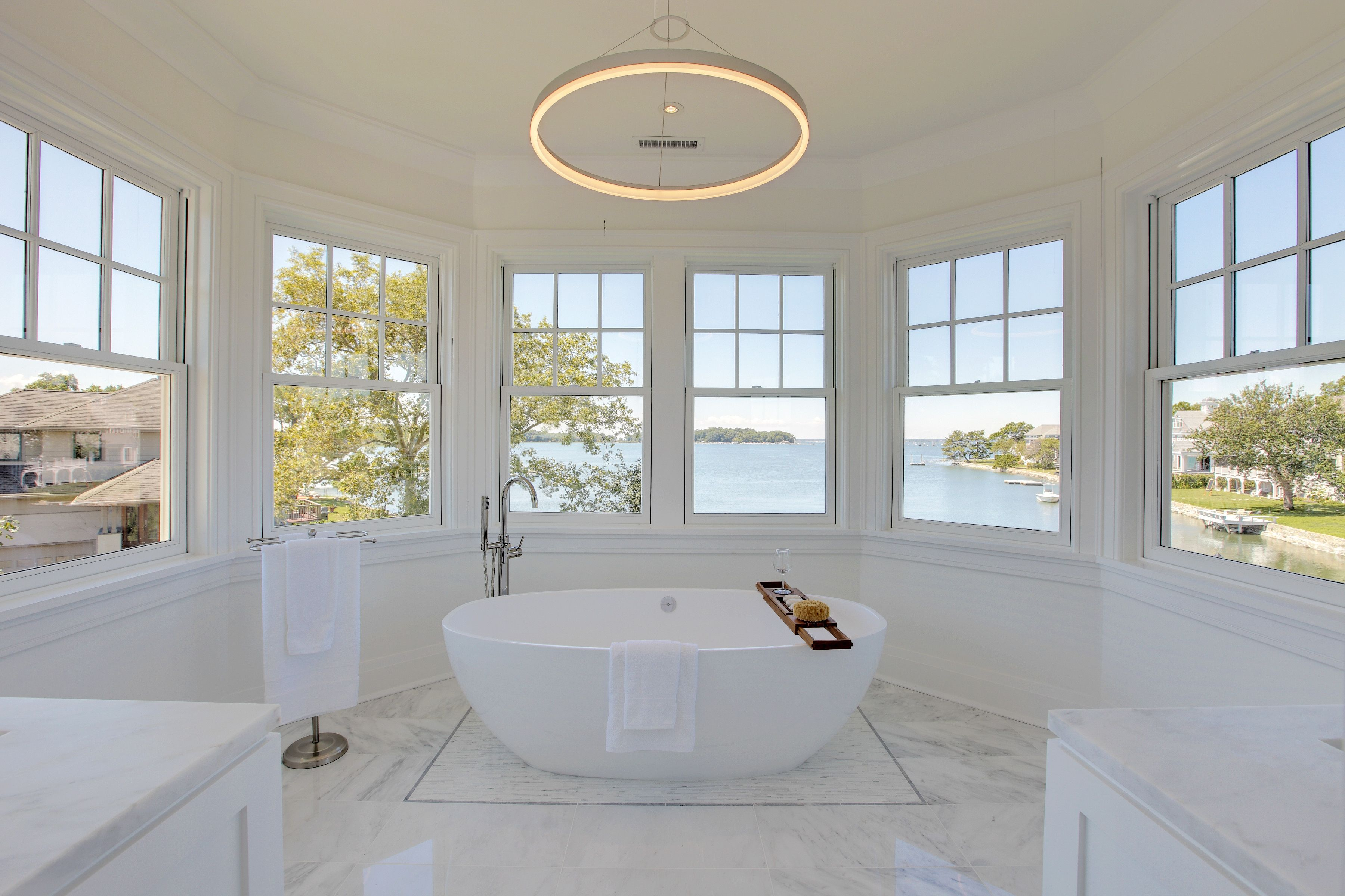 Lighting A Waterfront Home In Old