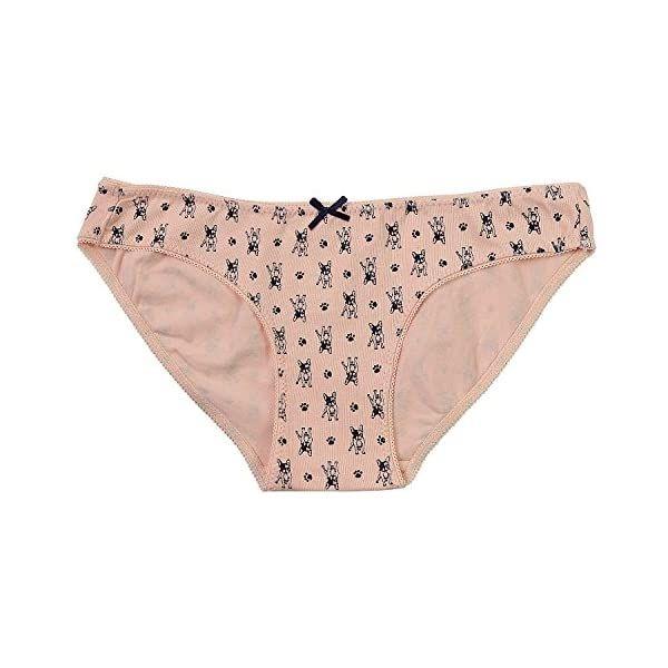 ABClothing La Ropa Interior de Bikini de Talle bajo de algod/ón 6 Personas