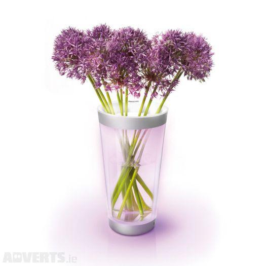 Philips Living Colours LED Flower Vase Mood Light Lamp ...