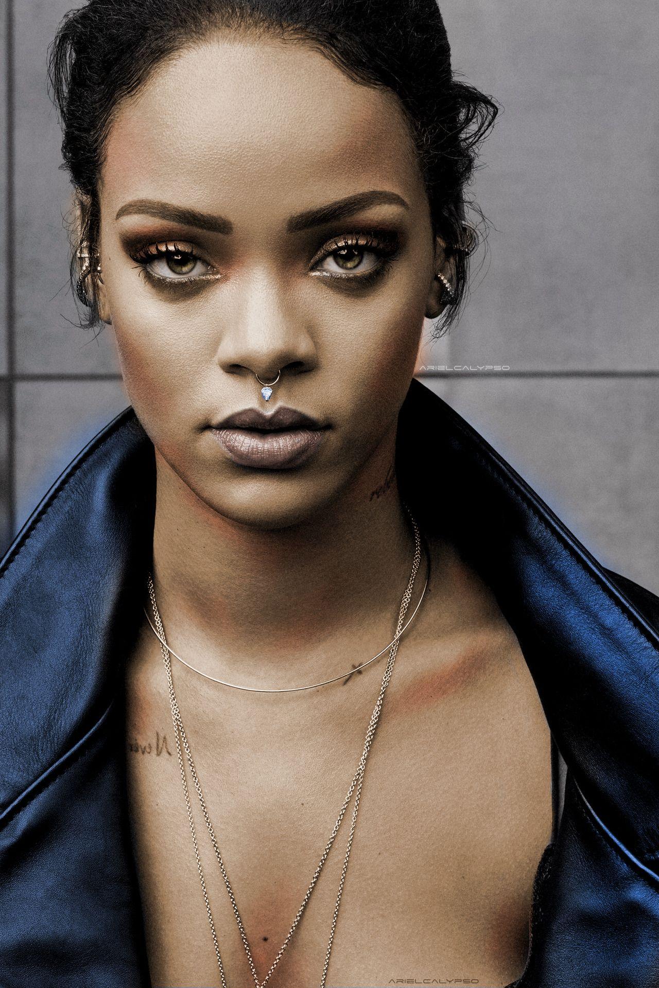 Rihanna for New York Times' T magazine. (October 2015