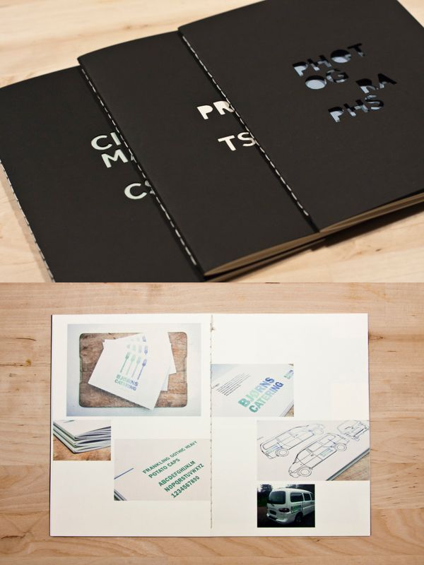 How to make a design portfolio book