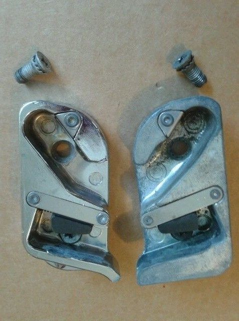 1953 53 Chevrolet Door Latch Striker Plate Screws Lh Rh Factory Originals Nice Chevy Vintage Cars Door Latch Chevrolet