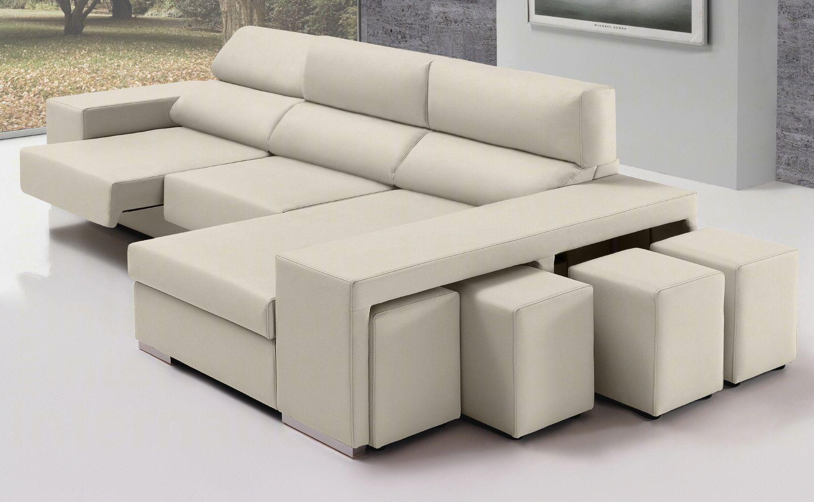 sof u00e1 de ecopiel o microfibra  u00c9rica de home  dise u00f1o de gran comodidad  con asientos deslizantes y