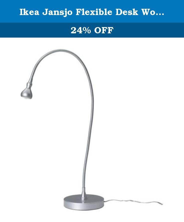 Ikea Jansjo Flexible Desk Work Led Lamp, Jansjo Desk Work Led Lamp