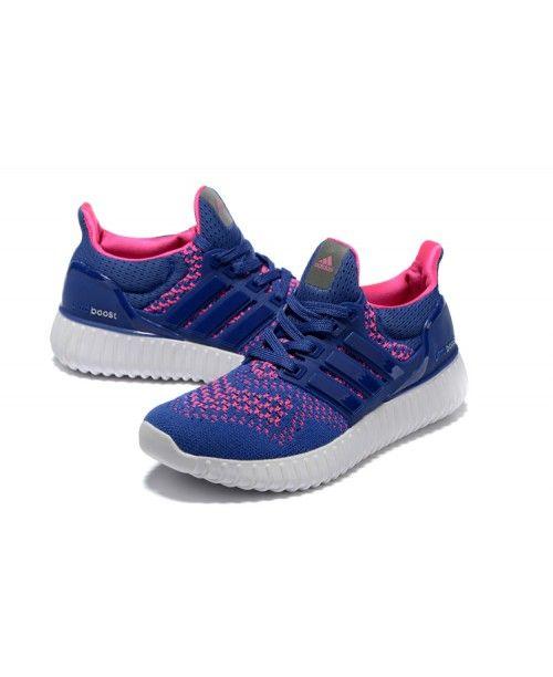 9471cee2743e62 Yeezy Ultra Boost 350 Womens Adidas Game Royal Hyper Pink Original ...